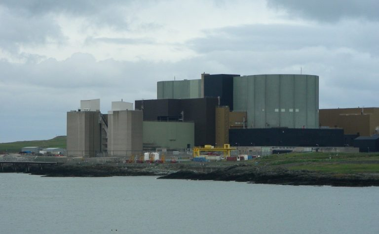 Wylfa Nuclear Plower Station Anglesey