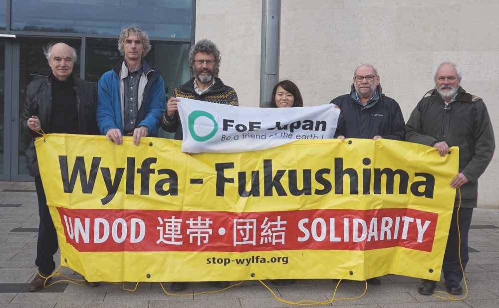 Protest Against Wylfa Nuclear Power Station, Anglesey
