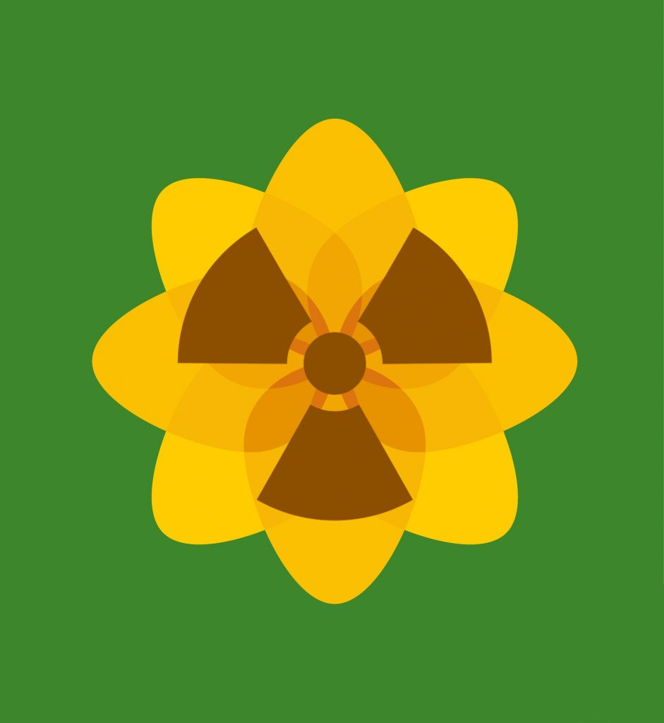 Plaid Nuclear Logo